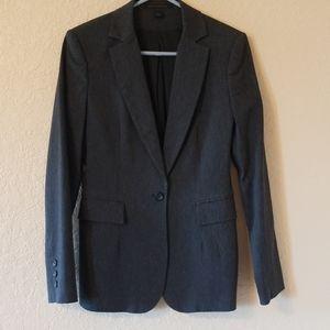 EXPRESS dark gray long sleeved blazer